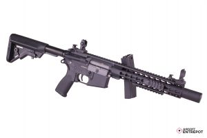 "Evolution Airsoft Recon S 10"" Silent Ops Carbontech (Noir)"