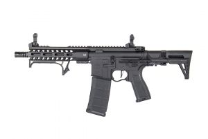 "Evolution Airsoft RECON STEALTH PDW 8"" M-LOK METAL (Noir)"