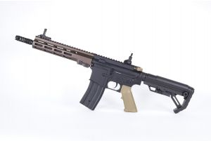 "Golden Eagle MS Geissele MK16 SMR 9.5"" AEG (Tan)"