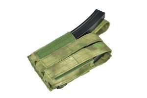 Flyye Triple SMG5 Mag Pouch - A-TACS FG