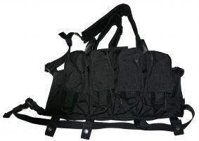 Flyye LBT AK Tactical Check Rig (Noir)
