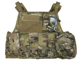 Flyye Plate Carrier avec poches (M / Multicam)