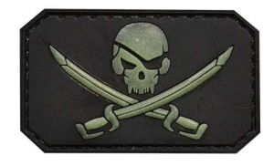 Patch Pirate Phosphorescent