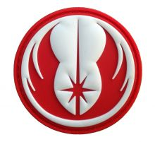 Patch Ordre Jedi Rouge