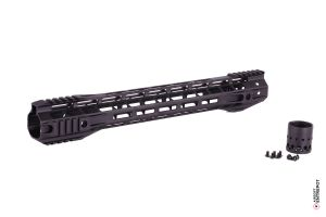 "G&P Rail 16.2"" M-Lok (BLACK)"