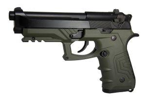 HFC 92 Gaz avec Mallette (Noir / Vert)