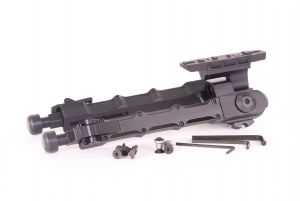 JJ Airsoft Bipied Accutac SR-5 KeyMod / M-LOK (Noir)