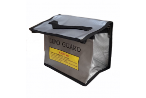 Sac de Charge LiPo Guard 215x145x165 Silver