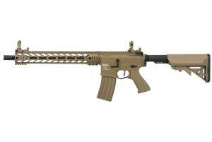 "Lancer Tactical M4 Enforcer Battle Hawk PDW 14"" (Tan)"