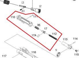KJW Nozzle Complet pour M4 GBBR