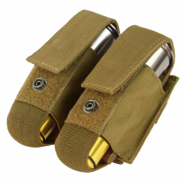 Condor Porte Grenade 40mm Double (Coyote)