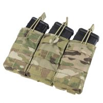 Condor Porte Chargeur M4 Open Top Triple - Multicam