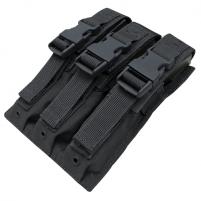 Condor Porte Chargeur MP5 Triple - Noir