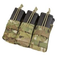 Condor Porte Chargeur M4 Stacker Open Top Triple - Multicam