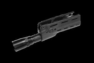 ICS Garde-main tactique avec lampe torche (Noir)