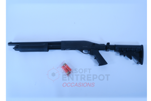 Occasion - PPS SHS Fusil a Pompe M870 (Gaz / Shell Ejecting) avec Crosse Repliable