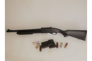 Occasion - Tokyo Marui Fusil à Pompe M870 Tactical Gaz (Noir)