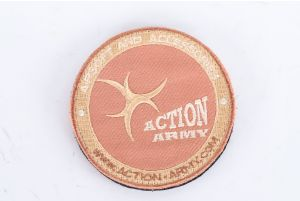 Patch Action Army (Rouge)