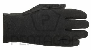 Pentagon Gants de Pilote Nomex Courts Black