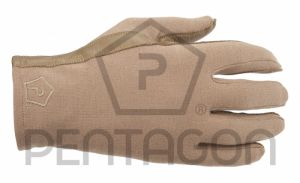 Pentagon Gants de Pilote Nomex Courts Tan
