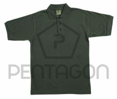 Pentagon Polo Piquet T-Shirt Forest Night
