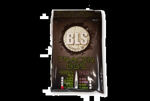 BLS Billes Bio Traçantes vertes 0.32g (Sac de 1 kg)