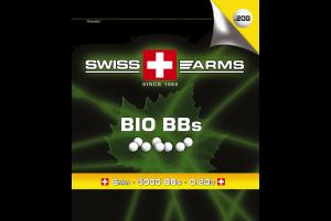 SWISS ARMS Billes BIO Blanche 0.20gr (Sac de 1 kg)