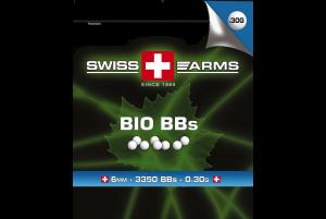 SWISS ARMS Billes BIO Blanche 0.30gr (Sac de 1 Kg)