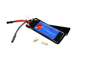 Ra-Tech Batterie LiPo 7.4V 1600mah 15C Custom KAC PDW