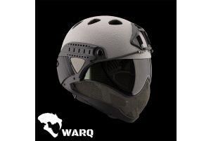 Warq Casque Raptor Complet Edition Limitée (Gris)