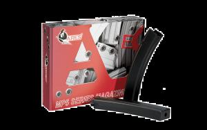 Ares Boite De 10 Chargeurs SMG5 AEG Mid-Cap 95BBs (Noir)