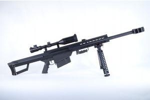 Snow Wolf Barret M82A CQB avec lunette 3-9X50E (Noir)