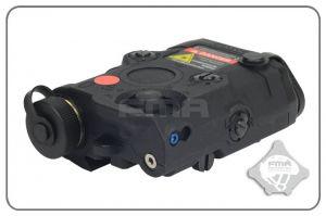 FMA PEQ-15 LED + Laser Rouge (Noir)