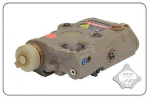 FMA PEQ-15 LED + Laser Rouge (DE)