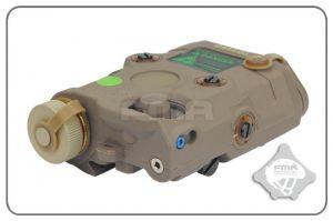 FMA PEQ-15 LED + Laser Vert (DE)