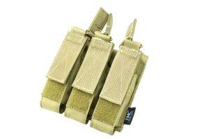 TMC Triple Poche Chargeurs pour SMG7 (Khaki)