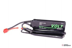 Volt Airsoft Batterie LiPo 11.1v 1800mAh 25C Butterfly (Deans Large)