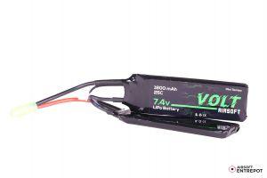 Volt Airsoft Batterie LiPo 7.4v 1800mAh 25C Butterfly (Tamiya Mini)
