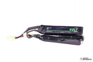 Volt Airsoft Batterie LiPo 11.1v 2200mAh 25C Sopmod (Tamiya Mini)