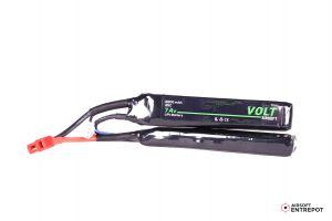 Volt Airsoft Batterie LiPo 7.4v 2200mAh 25C Sopmod (Deans Large)