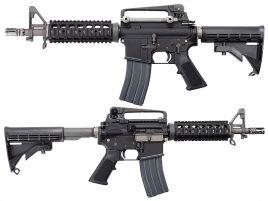 WE M4 CQB GBBR (Noir)