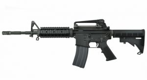 WE M4 RAS Open Bolt GBB BK