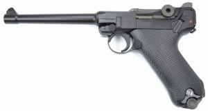 """WE P08 Luger 6"""" GBB (Noir)"""