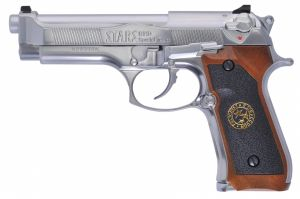 WE M9 Samurai Edge Biohazard GBB (Silver)