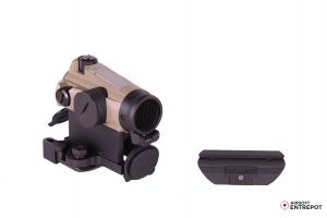 XTSP Red Dot Sight with Low Mount and QD Mount (TAN)