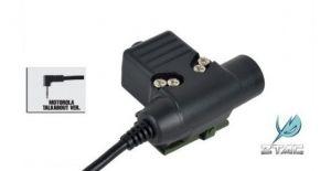 Z-Tac PTT U94 (Motorola 1 Pin)
