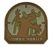 Patch Zombie Hunter Tan