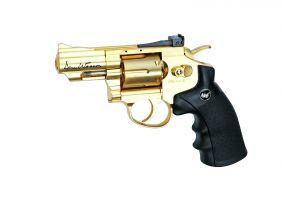 "ASG Revolver Dan Wesson 2,5"" NBB (Gold)"