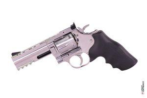 """ASG Revolver Dan Wesson 715 4"""" NBB (Silver)"""
