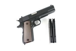 WE 1911 Double Canon GBB (Bk)